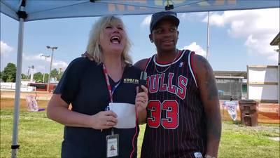 Nancy Wilson from K99.1FM interviews Jimmie Allen
