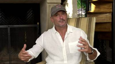 Tim McGraw talks about his new album 'Here On Earth'