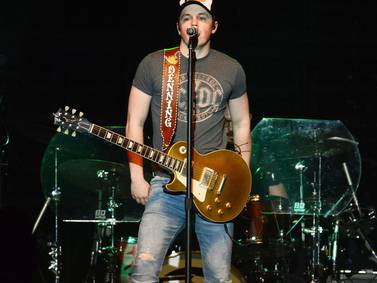 PHOTOS: Dustin Lynch and Travis Denning perform at Hobart Arena
