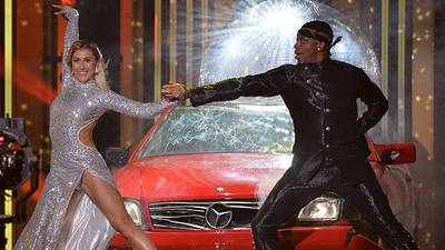 Jimmie Allen does the tango during his 'Dancing with the Stars' debut