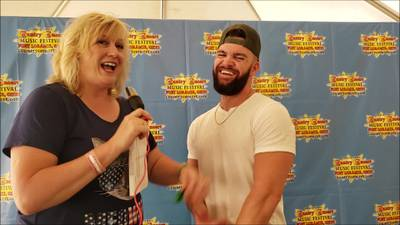 K99.1FM at Country Concert '19 with Dylan Scott