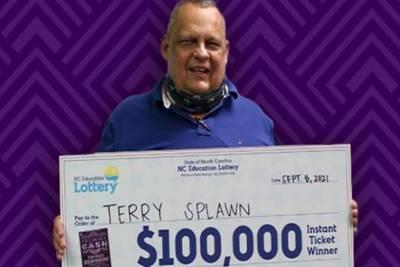 North Carolina man wins third lottery jackpot at same store