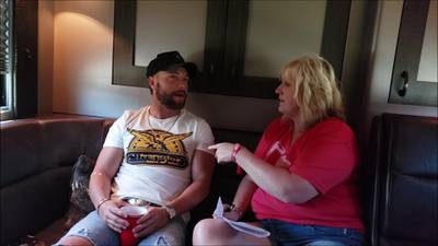 K99.1FM at Country Concert '19 with Chris Lane